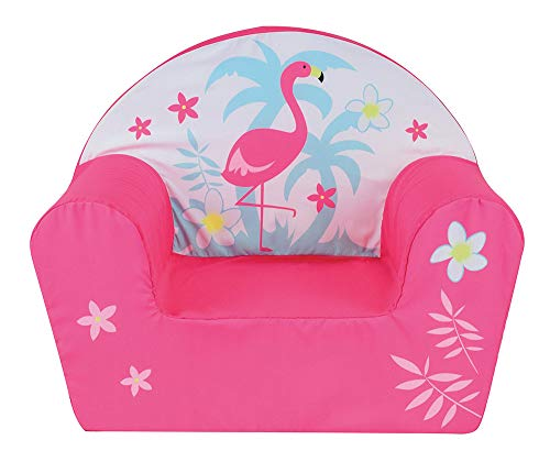 FUN HOUSE 713133 Flamant Rose Fauteuil Club Enfant Origine France Garantie
