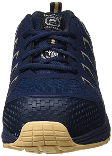 Skechers Malad, Zapato Industrial Hombre, Multicolor (NVTN Black Textile/Synthetic), 42.5 EU