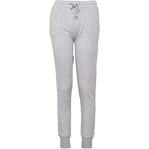 jbs of Denmark - Pantalones de chándal para Mujer, Ajuste Ideal, diseño escandinavo y Transpirable Gracias al Tejido de algodón de bambú, Secado rápido, Gris Claro, M