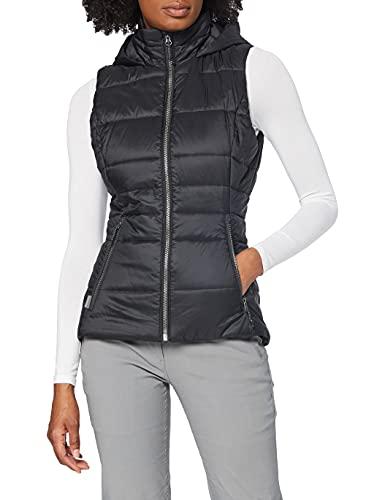 icebreaker Damen Weste Stratus X Hooded Vest, Black/Jet Hthr, S, 103907003S