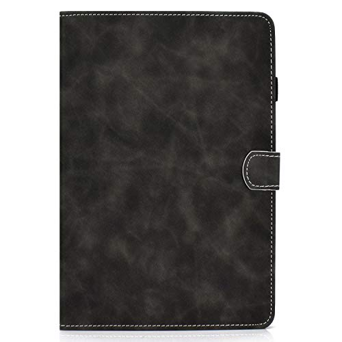 zl one - Carcasa de piel sintética para tablet Huawei MediaPad T5 de 10', color negro
