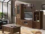 MUEBLES DELUXE ONLINE MEDITERRANEA Mueble Salón Rústico Modelo 1 - Salón Rústico Sin Mesa Centro