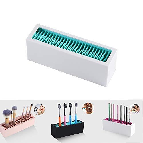 ZHive Desktop Makeup Brush Storage,Geeignet füR die Aufbewahrung von Kosmetika, EinschließLich...