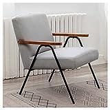VIVIANSHOP Silla ergonómica para salón o dormitorio balcón tejido técnico silla silla silla silla sillón sillón sillón sillón sillón sillón sillón sillón sillón sillón taburete