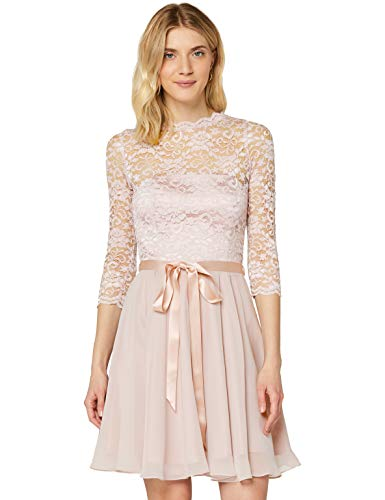 Swing Damen Kleid Fiona, Rosa (Rose 696),38 (Herstellergröße:38)