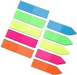 Lezed Segnapagina Adesivi Nota Scrivibile Etichette Pagina Marcatore Segnalibri Testo Evidenziatore Strisce Etichette Adesive Etichetta Adesiva Page Marker Segnalibri Linguette Sticky Note 200 pezzi