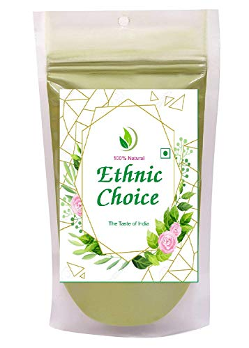 Ethnic Choice 100% Natural Indigo Powder for Hair and Beard (Natural Hair dye, Colour)_Pack of 100 g