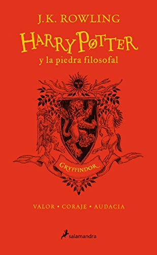 Harry Potter y la piedra filosofal. Edición Gryffindor / Harry Potter and the Sorcerer's Stone: Gryffindor Edition (Spanish Edition)