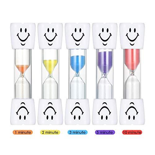 Decdeal Sablier Hour Glass Horloge de Sable Minuterie Enfant Jouet Horloge à Sablier pour Jeux Cuisine Exercice (Type 1)