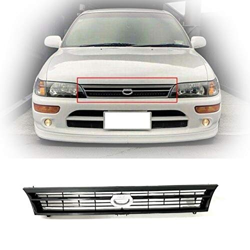 Grille Fit For Toyota Corolla 93 97 Grille 1993 1997 AE100 AE101 JDM Crown Billet Style