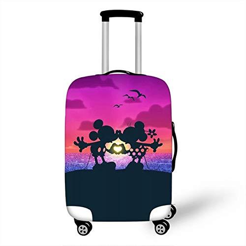 ZHIRUI - Funda protectora para maleta con ruedas (tamaño XL), diseño de Minnie Mickey S F