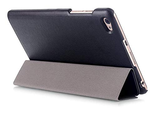 Kepuch Custer Hülle für Huawei MediaPad M2 8.0,Smart PU-Leder Hüllen Schutzhülle Tasche Hülle Cover für Huawei MediaPad M2 8.0 - Schwarz