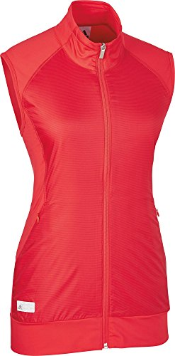 adidas Tech Wind Vest Weste, Golf, Damen M rot