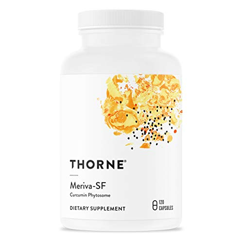 Thorne Research - Meriva SF (sin soja) - Suplemento de fitosoma de curcumina liberado de forma sostenida - 120 Cápsulas