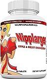 NIPPLARGER Nipple Enlargement, Breast Enlargement, Skin Tightening – Enjoy Larger, Fuller, Firmer Nipples and Breasts. 60 Tablets.