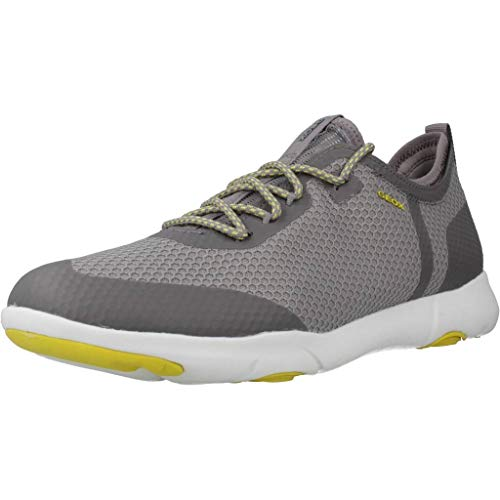 Geox Herren U Nebula X A Sneaker, Grau (Lt Grey C1010), 45 EU