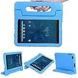Kavon Funda para Walmart Onn 8 Pulgadas Tablet 2019 ONA19TB002, EVA Ligera a Prueba de Golpes Soporte de Manija Convertible,Funda Protectora Tableta para Niños de 8 Pulgadas (Azul)