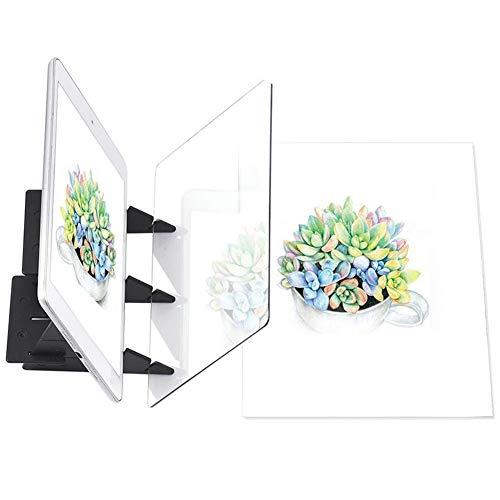 Tablero de Pintura óptico Portátil Panel de Copia Manualidades de Panel Arte de Pintura de Anime Herramienta de Dibujo Fácil Molde a Base de Cero