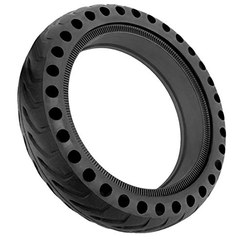 Together-life 8.5 Inch Solid Tire Front/Rear Tires Replacement for Xiaomi Mijia M365 Electric Scooter(Black)