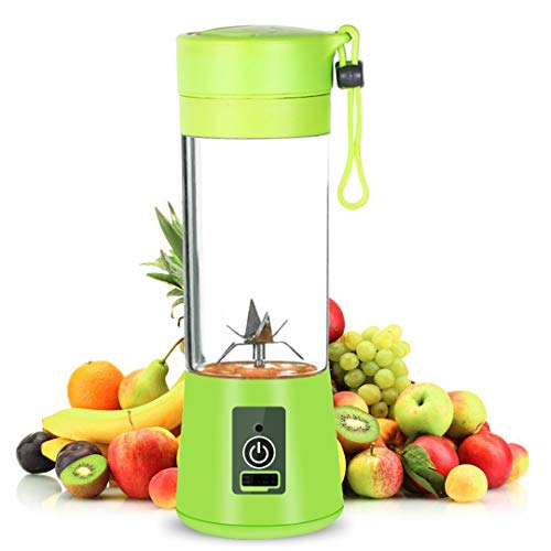 Local Makes A Comeback oplaadbare Juice Blender met USB-aansluiting, draagbare mini-mixer, Juicer Cup met updated 6 blades