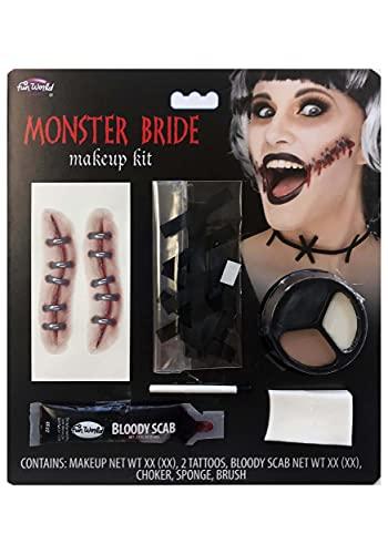 Fun World Monster Bride Makeup Kit Standard