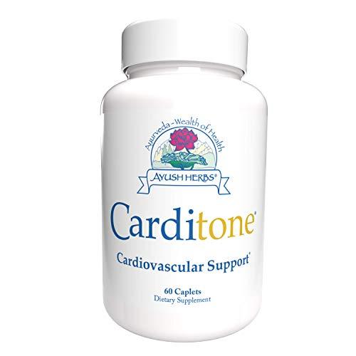 Ayush Herbs Carditone Supplement, 60 Capsules
