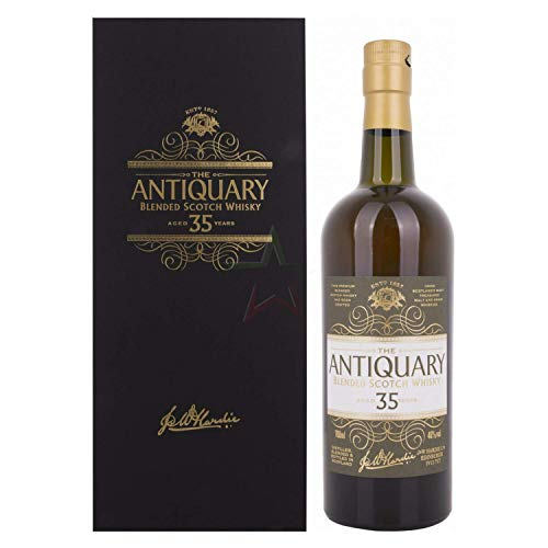 The Antiquary 35 Years Old Blended Scotch Whisky mit Geschenkverpackung (1 x 0.7 l)