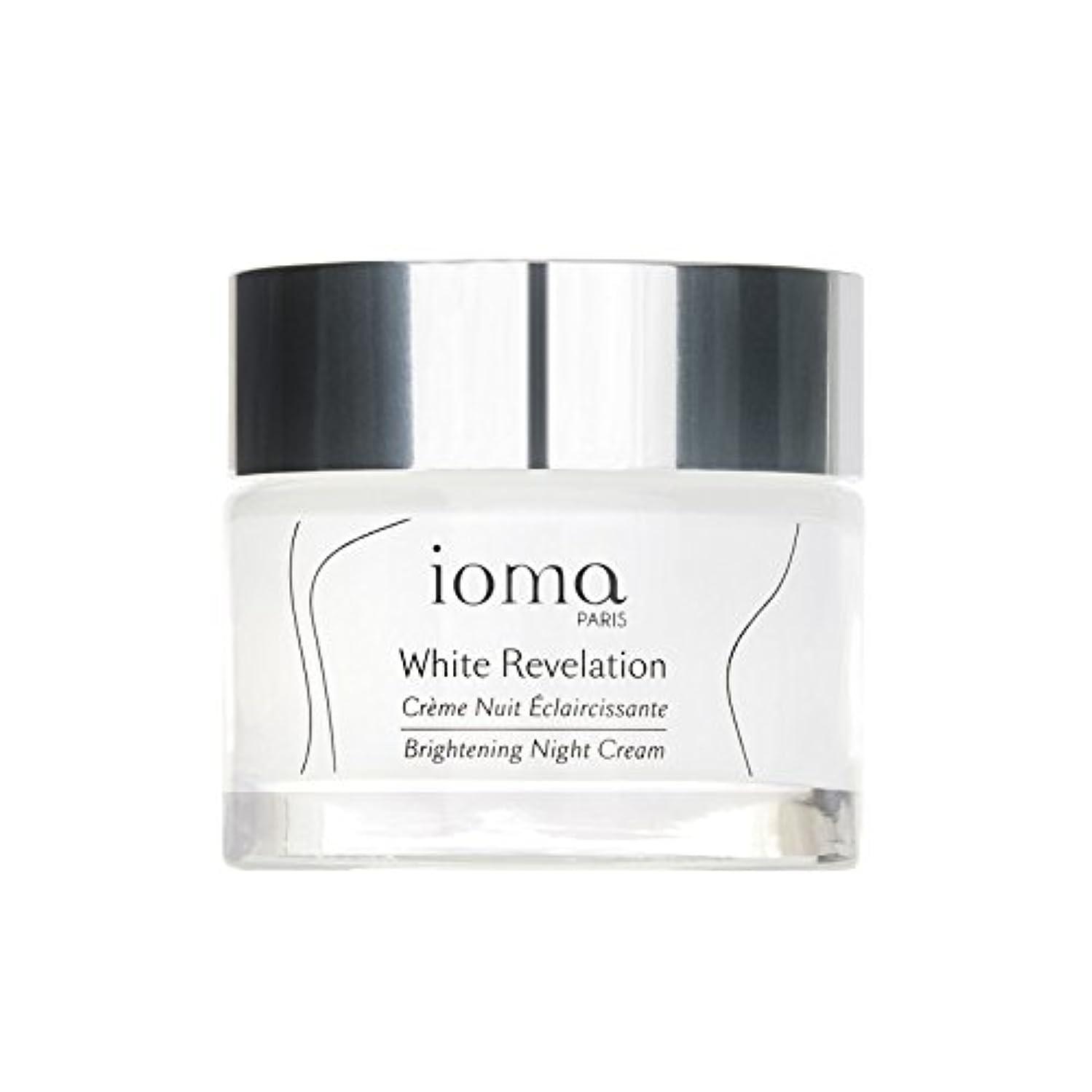 みがきます世界の窓想定するブライトニングナイトリニューアルクリーム50 x4 - Ioma Brightening Night Renewal Cream 50ml (Pack of 4) [並行輸入品]