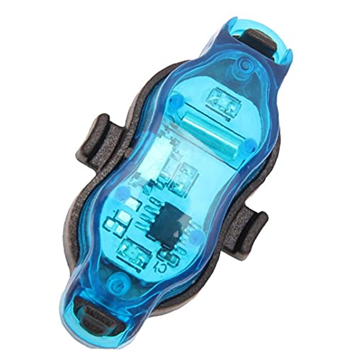 EElabper Ruedas de Bicicleta Luces de lámparas LED habló Luces Impermeable Niños Scooter Bicicleta neumático de la Bicicleta de la llanta Lavarse Azul de Cuidado