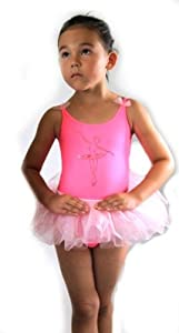 Combinaison de Ballet Ballet Robe avec angenähtem Maillot de Ballet Tutu Jupe Look N ° 405