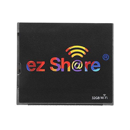 MASUNN Ez Share WiFi 32 GB C10 WiFi Switch CF Tarjeta De Memoria para La Cámara
