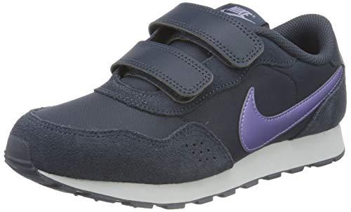 Nike Md Valiant Wanderschuh, Thunder Blue/Purple Pulse-Whit, 31 EU