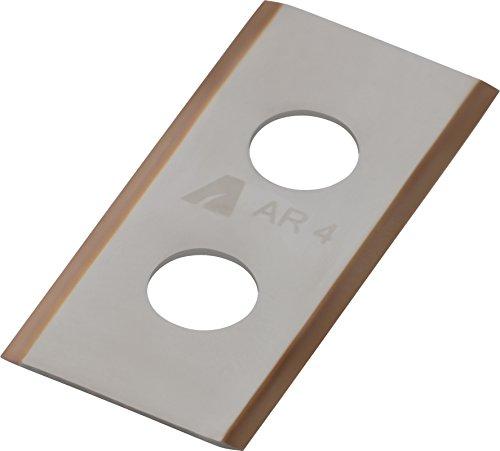 ARNOLD 1111-W1-1009 AR4 9X TiN-Cut reservemessen incl. schroeven voor Worx robotmaaier