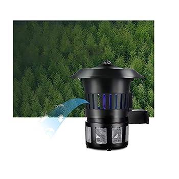 YLKCU Lampe de piège à lumière UV Anti-Moustique électronique, pour Lampe de répulsif Anti-Moustique extérieure pour Jardin extérieur étanche