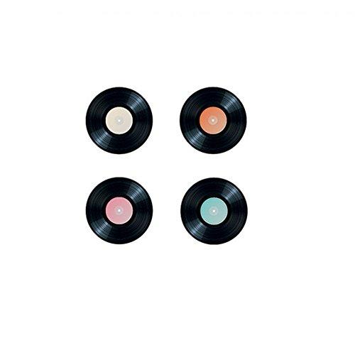 Chaks 72007, Sachet de 16 Confettis disque vinyle