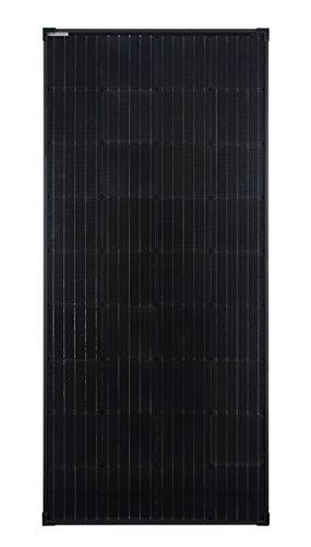 enjoysolar® Mono 170W Monokristallines Black Edition Solar panel...