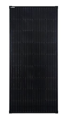 enjoysolar® 170Watt Full Black Edition Monokristallin 12V schwarzes Solarmodul Solarpanel Mono 170W ideal für Garten Wohnmobil Caravan