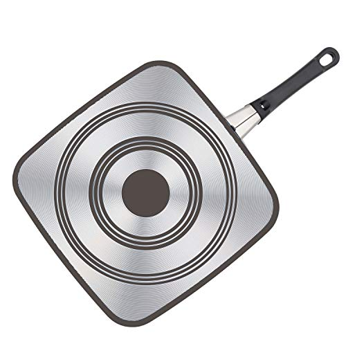 Farberware High Performance Nonstick Griddle Pan/Flat Grill, 11 Inch, Black