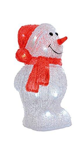 """LED Beleuchtung\""""Schneemann\"""" Weihnachtsbeleuchtung außen Weihnachtsfigur Garten Beleuchtung Weihnachten (Schneemann einfach)"""