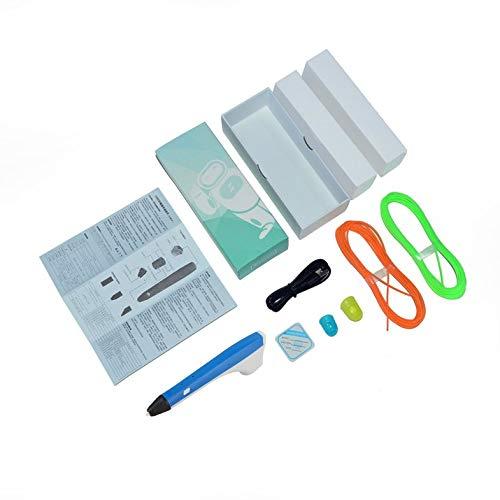 CloverGorge 3D-Druck Stift Kinder Graffiti Stift Malerei Modellierung Kinder Zeichnung Werkzeug, blau