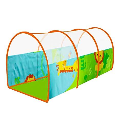 Z-w-Dong Colorido Pop-up túnel, túnel de Peso Ligero for un Juego de niños de Arrastre del túnel Niños túnel arqueado túnel for el Kinder Tiendas de campaña (Color : C)