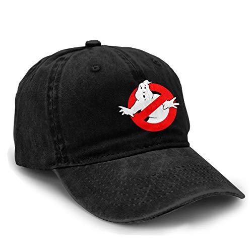 Unisex Ghostbusters No Ghost Denim Baseball Dad Hat