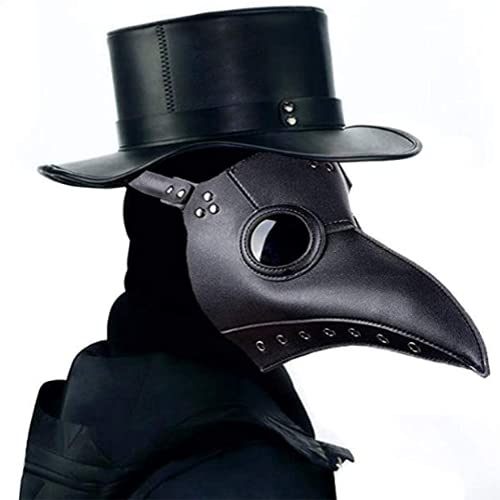 MHBY Máscara de Halloween, Máscara de médico de la Peste Máscara de...