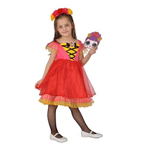 Ciao-L.O.L. Surprise Halloween costume travestimento Bebe Bonita (Taglia 6-9 anni) con accessori Bambini, Multicolore, 11136