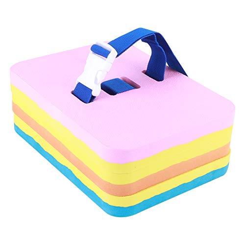 Tabla de natación, tabla flotante de natación, con forma exquisita, ligera, flotante, impermeable, resistente a las fracturas, ayuda de entrenamiento para niños y adultos(Cuatro colores en uno)