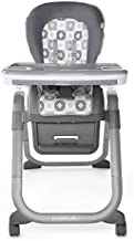 Ingenuity SmartServe 4-in-1 High Chair with Swing Out Tray – Clayton – High Chair, Toddler Chair, & Booster