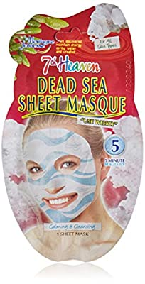 7th Heaven Dead Sea Sheet Masque 20g by 7th Heaven