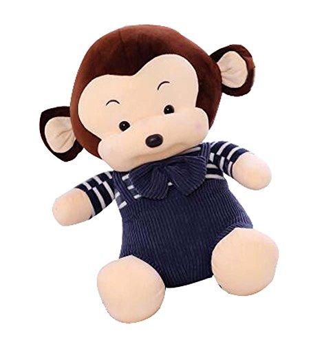 Black Temptation Lovely Monkey Pattern Peluche marionnettes Creative Pets Doll Décorations pour la Maison