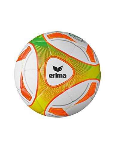 Erima Hybrid Lite 290 Fußball, weiß/Orange, 4