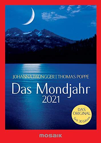 Das Mondjahr 2021: s/w-Taschenkalender - Das Original